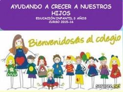 Educación Infantil 3 años curso 2015-16