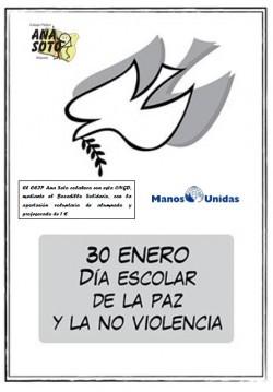 DÍA DE LA PAZ Y LA NO VIOLENCIA