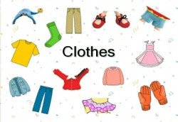 MY CLOTHES (2º PRIMARIA)