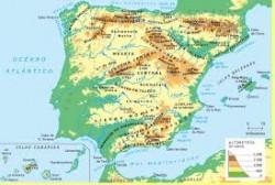 Para estudiar el Relieve de España