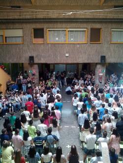 ACTO ACADÉMICO DE FIN DE CURSO 2014-15