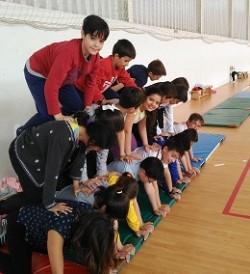 Practicando el Acrosport