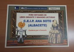 XVIII CERTAMEN DE LIBRO GIGANTE Y GRANDES LECTURAS